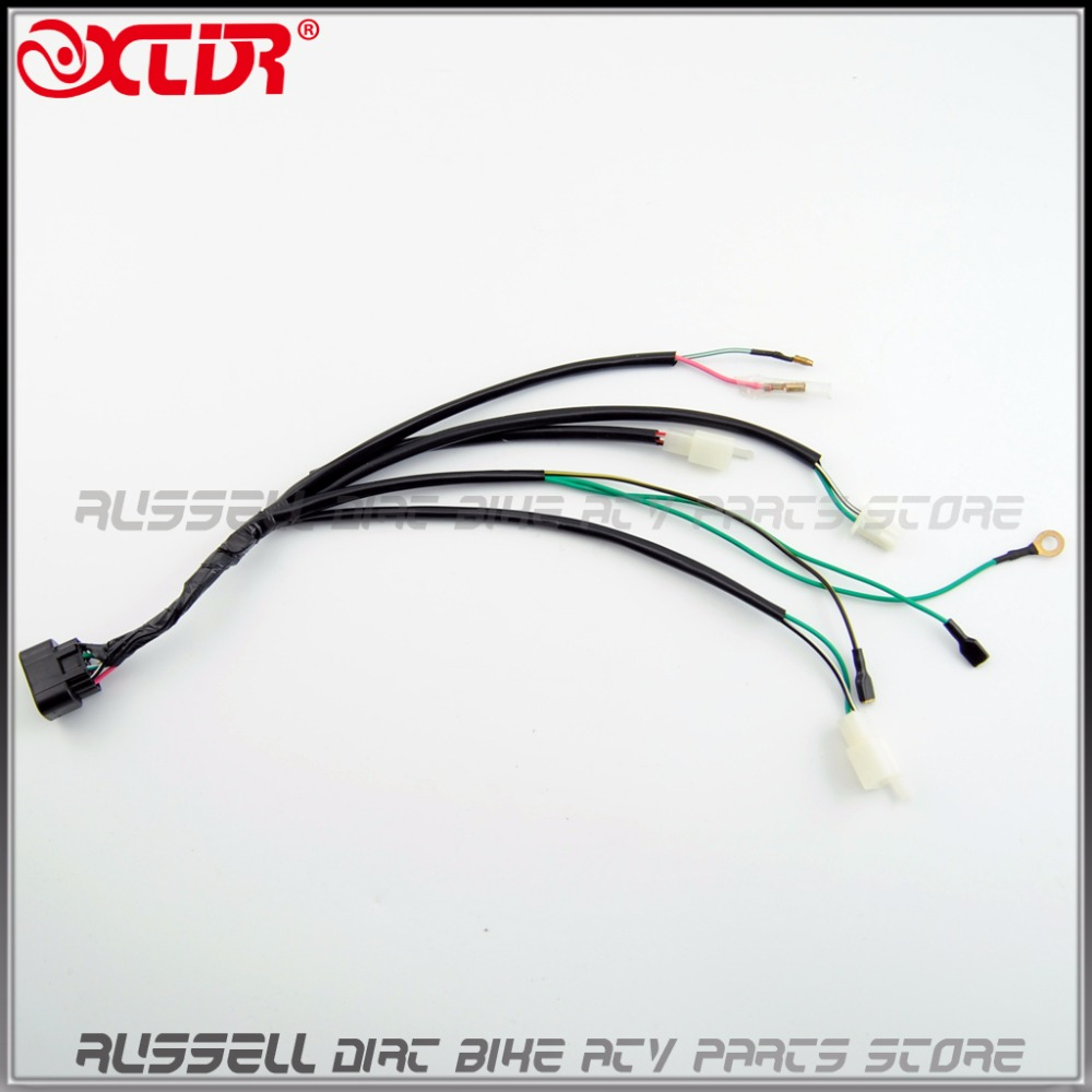 Kick Start Engine Wiring Harness For 140cc 150cc 160cc Trail Pitpro S Dirt Bike In Motorbike Ingition From Automobiles Motorcycles On