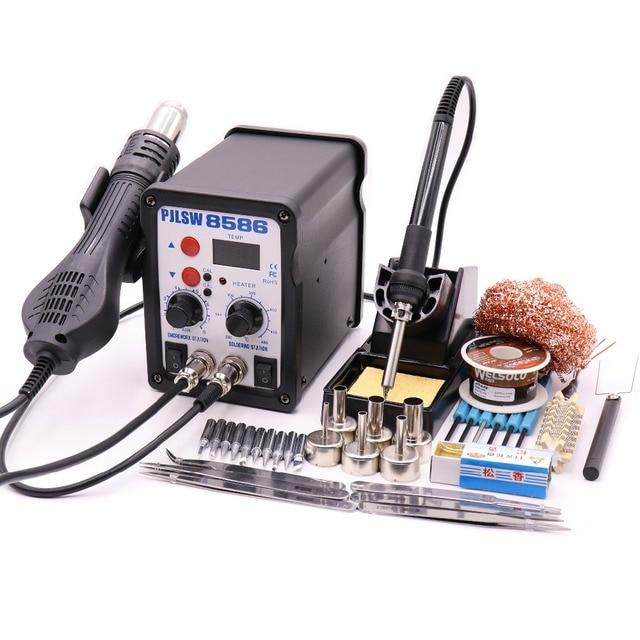 PJLSW 8586 700W ESD Soldering Station LED Digital Solder Iron Desoldering