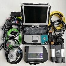 Super MB Star C4 V12/ и Icom Next для BMW 2 программное обеспечение в 1 ТБ SSD на использовании d ноутбук CF-19 готов к использованию для автоматической диагностики