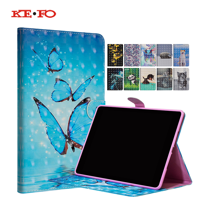 Fashion 3D Patterned Case For Huawei MediaPad T3 10 AGS-W09 AGS-L09 AGS-L03 9.6 inch Cover Funda Tablet for Honor Play Pad 2 9.6