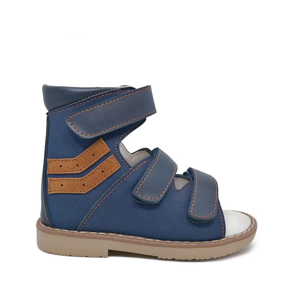 ORTHOFIT Crna Dječja kožna sandala Zatvorena peta Djeca Ortopedske - Dječja obuća - Foto 2