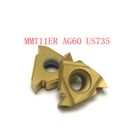 us735 כלי קרביד כלי חיצוני חוט הפיכת כלי 20PCS MMT11ER AG60 VP15TF / UE6020 / US735 כלי קרביד 60 (3)
