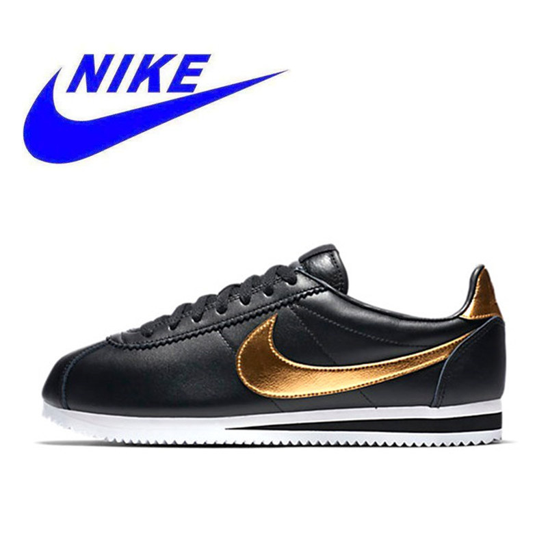 low priced 23e48 cc7c2 Original New Arrival Official NIKE CLASSIC CORTEZ SE Men s Waterproof  Running Shoes Sports Sneakers Trainers 902801-002