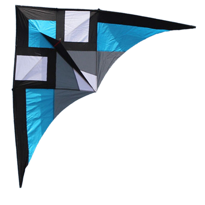 Free Shipping New Toys Hot 3m Quality Goods Power Triangle Kite With Handle and String Good Flying