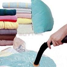 """ארגון תיבת אחסון בית באיכות גבוהה/שקיות אחסון חיסכון בשטח ידידותי לסביבה 50*60 ס""""מ/מזדמן חותם ואקום ארגונית"""