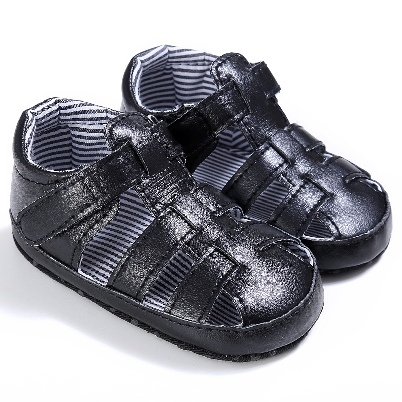 Children Sandals Baby Girl Boy Soft Bottom Leisure Prewalkers 0-18M Summer Shoes PU Hollow Out Sandals 2018 summer