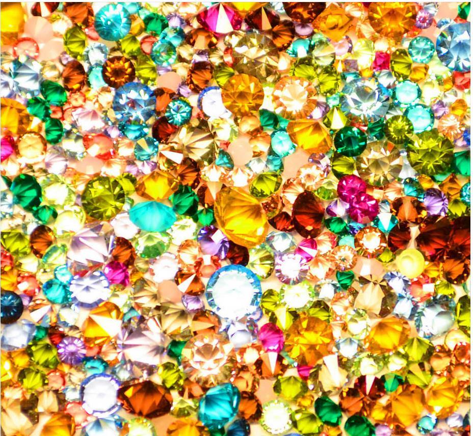 Photo wall murals wallpaper ceilings Beauty colorful gemstones ...