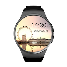 Mejores Ofertas Bluetooth Reloj Inteligente, 1.3 pulgadas IPS Pantalla Táctil Redondo Resistente Al Agua Smartwatch Teléfono con Ranura Para Tarjeta SIM, Dormir M