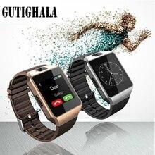 DZ09 u8 Inteligente Relógio de Pulso Digital com Homens Eletrônicos Bluetooth Cartão SIM câmera Esporte Smartwatch Para iPhone Android Telefone Do Relógio