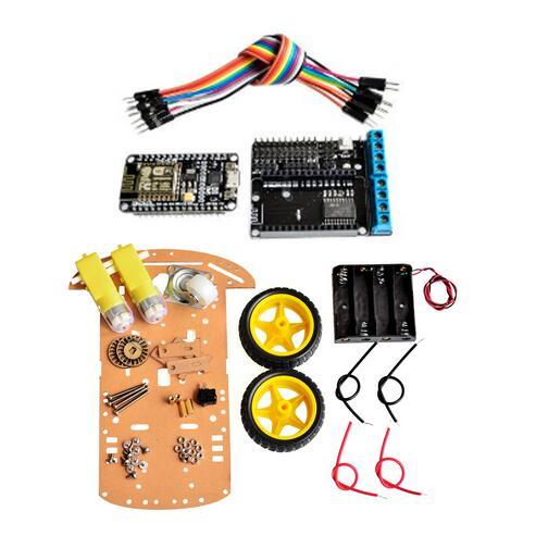 2wd Rc Wifi Smart Car Kit L293D By ESP 12E For Esp8266 Esp 12e Diy