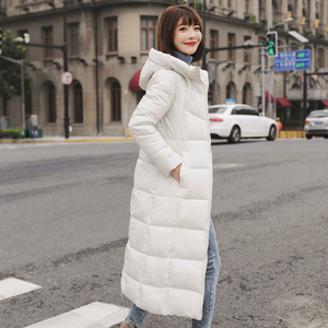 Image 4 - Plus Size 4XL 5XL 6XL womens Winter Jackets Hooded Stand Collar Cotton Padded Female Coat Winter Women Long Parka Warm Thicken