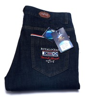 Jeans Man Tace Shark Brand Clothing Jeans Straight Medium And Straight Cotton Thin Fabric Embroidered Jeans