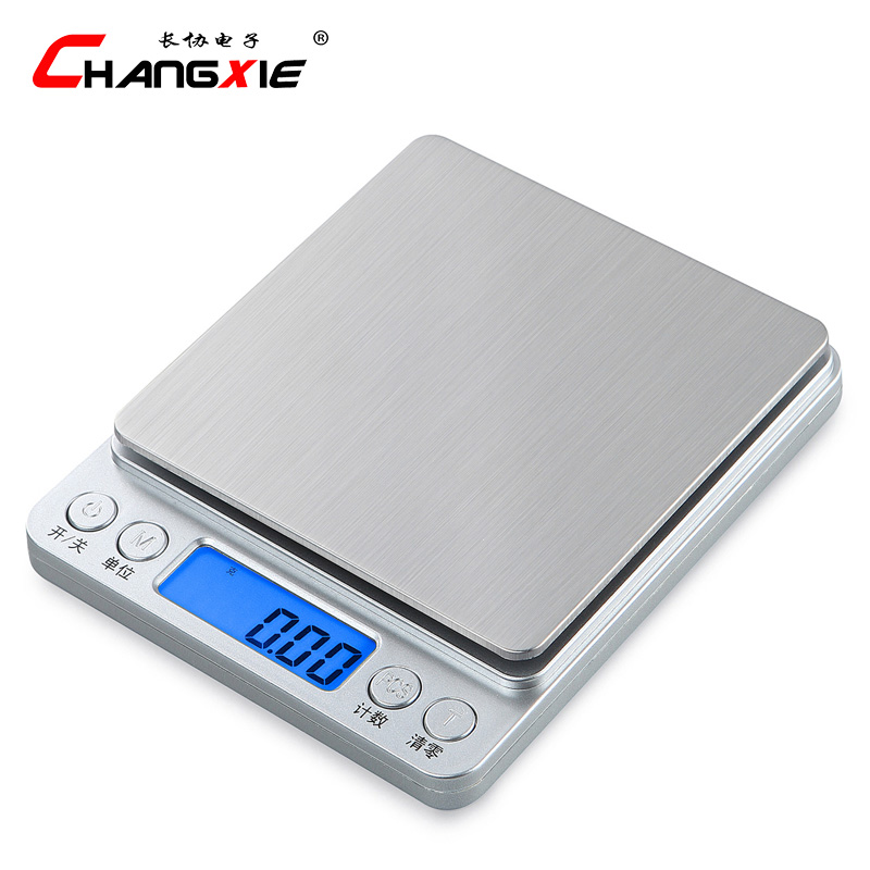 0.1g -0.01g Precision Kitchen Scales with Bowl Mini Electronic Jewelry Scales Small Balance Baking Weighing Food Cooking Tool 0 1g high precision lcd display electronic scale food diet kitchen scale jewelry balance scales jewellery weighing scales