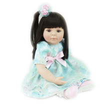 New Arrival 20 inch Vinyl Baby Born Dolls for Girls as Gift Lovely Girl Doll Toys for Christmas Gifts