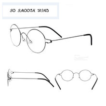 Homens Óculos De titânio Mola Negócio Oliver Ultraleve Miopia Rodada Coreano  Lua Marca Frame Ótico Eyewear 2d7c2f2bad