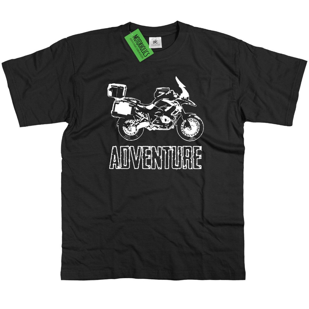 2018 fashion summer t shirt Germany Motorcycle GS1200 Adventure T Shirt R1200GS RT 1200 GS R Tee Shirt ...