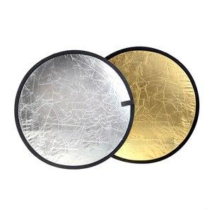 "Image 3 - Godox 43 ""110 cm 2 trong 1 Portable Ráp Nhẹ Round Photography Reflector cho Studio Đa Ảnh Disc"