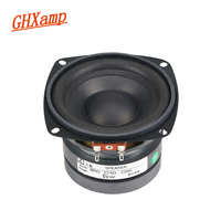Ghxamp 4 Inch 4OHM 50W Subwoofer Speaker Woofer Long Stroke Car Audio Home Theater High Power