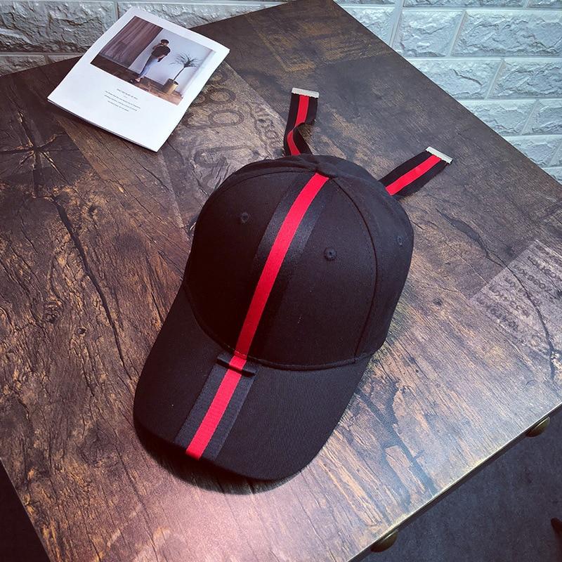 Causey 2018 Summer Baseball Sunhat Caps Women Men Fashion casquette Adjustable Hip Hop Cap Striped Bow Unisex Snapback Dad Hat