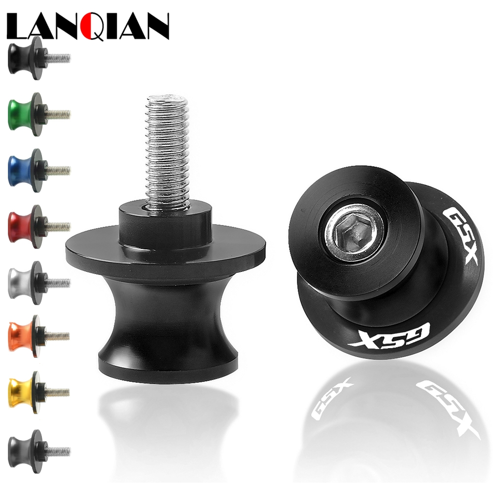 Motorcycle Swingarm Spools Slider 8MM Stand Screw For SUZUKI GSX650F 650F 650 F <font><b>2008</b></font> GSX750F <font><b>GSX</b></font> 750F <font><b>750</b></font> Katana 1991 - 2006 image