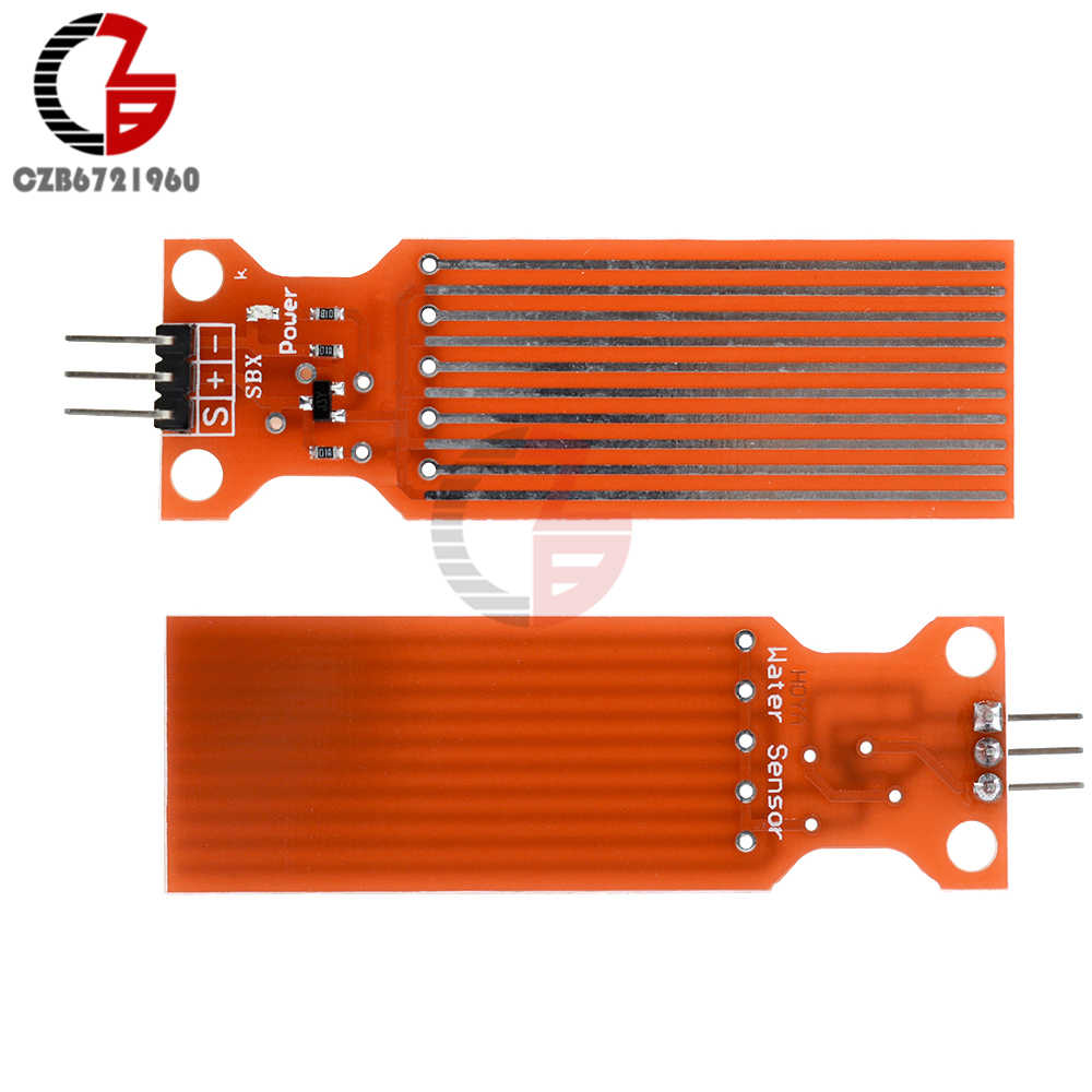 10Pcs Regen Waterniveausensor Module Detectie Diepte Vloeibare Oppervlak Hoogte Flow Sensor Voor Arduino