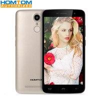 Homtom MTK6737 HT17 Pro 5.5 cal Android 6.0 4G Telefon Quad rdzeń HD Ekran 2 GB RAM 16 GB ROM Czujnik Odcisków Palców Telefon komórkowy