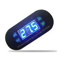 Top Selling DC 12V Digital Thermostat Temperature Alarm Controller Sensor Meter Blue LED Mini Thermal Regulator