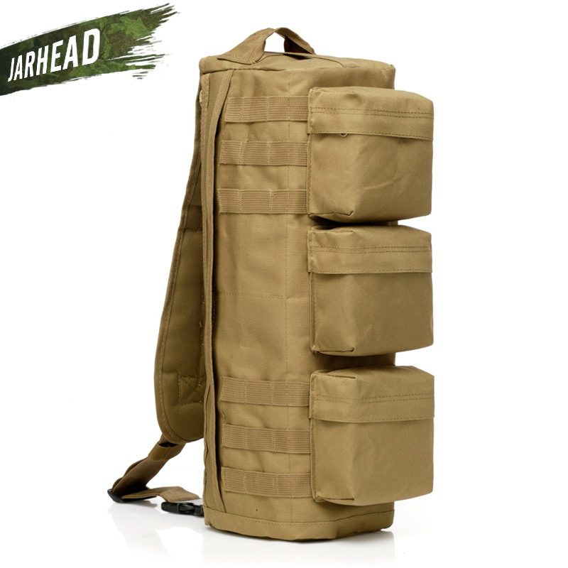 Military Tactical Assault Backpack Army Outdoor Molle Waterproof Rucksack Men Hiking Camping Hunting Knapsack Shoulder Bag