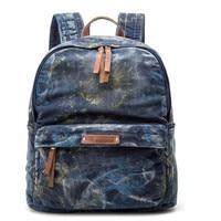 Amasie рюкзак школьные ранцы синий печати рюкзаки с медведем для подростков женский туристический рюкзак рюкзаки GET0030