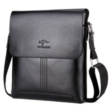 KANGAROO Luxury Brand Men Shoulder Bag Classic Male Messenger Bags Leather Vintage Casual Small Crossbody Bag For Men Briefcase
