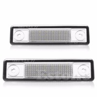 2PCS LED Number License Plate Light For Vauxhall For Opel For Corsa B Astra F G