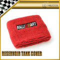 Car-styling 2pcs/pair Ralliart Reservoir Tank Cover Universal Fitment JDM SKYLINE GTR GTT GTS EVO