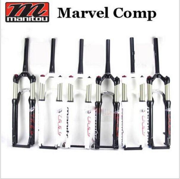 2016 Manitou Marvel Comp 27.529 27.5er 29er Suspension bike bicycle mtb Fork Manual contorl ...