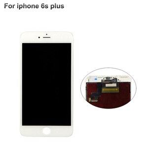 Image 5 - Pantalla LCD de grado AAA para iPhone 6, 5s, 5c, 6s plus, montaje de marco de bisel de pantalla táctil, LCD blanco y negro para iPhone 6