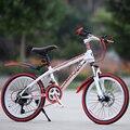 Горный велосипед  24-дюймовый 21 скоростной амортизатор  дисковый тормоз  детский велосипед для взрослых