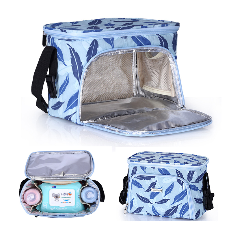 brand Baby Strollers Bag Organizer Waterproof Heat Preservation Mummy Diaper Nappy Storage trolley Bag Stroller Accessories image