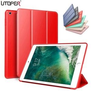 Smart Case For ipad 4 3 2 Case Leather Cover For ipad Mini 4 1 2 3 Case Silicone wake up / auto sleep Coque For ipad Mini 3 Case