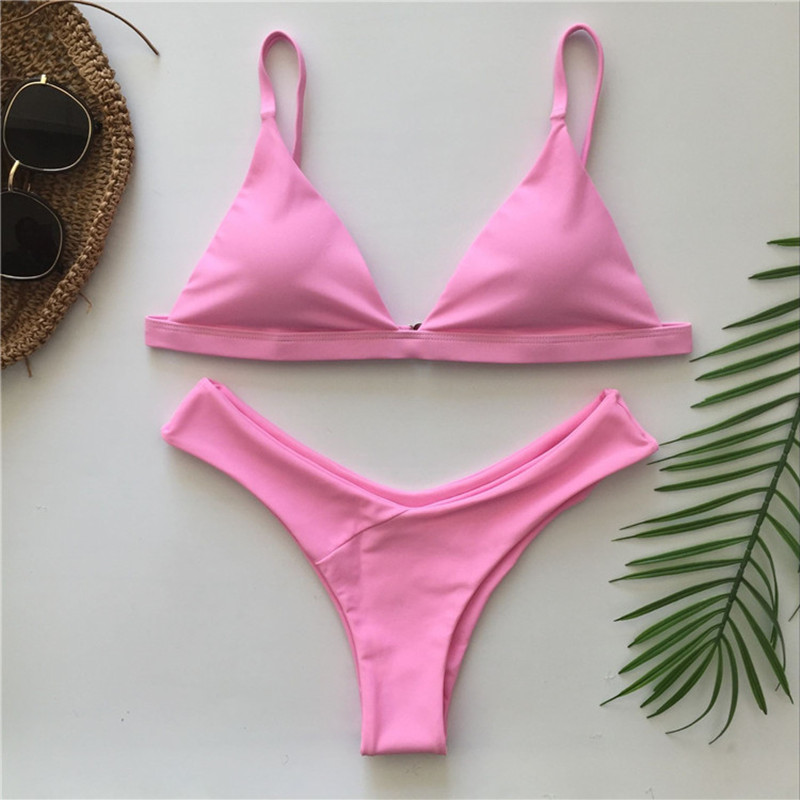 Bandage Sexy Brazilian Bikini Biquini Praia Swimwear Women Hot Swimsuit Traje De Bano Mujer Maillot De  Femme Monokini Badpak