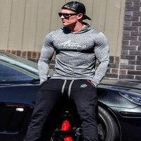 2017 New Fashion Brand Hoodie Hot Sale Plaid Jacquard Hoodies Men Bodybuilding Tracksuit Male Sweatshirt Men