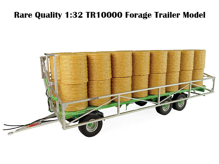 Rare and Fine 1:32 JSK TR10000 Forage Trailer Model  Tractor Trailer  Alloy Collection ModelRare and Fine 1:32 JSK TR10000 Forage Trailer Model  Tractor Trailer  Alloy Collection Model