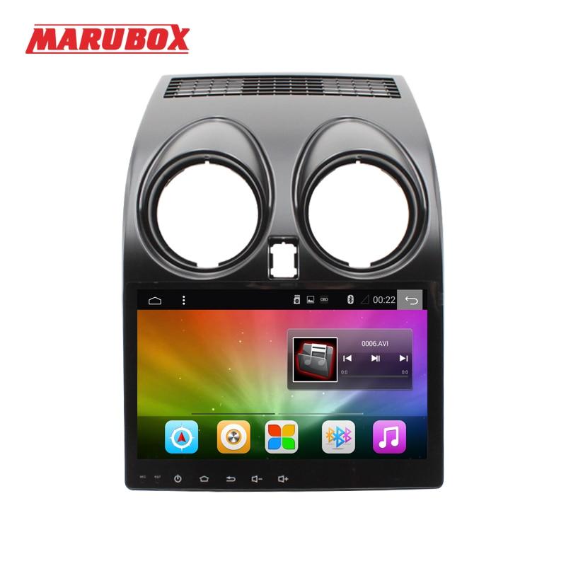 MARUBOX M002A4 Voiture lecteur multimédia pour Nissan Qashqai 2010 Dualis 2007-2014 Navigation GPS Auto Radio Multimédia Android 7.1