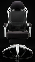 Эргономика компьютерные кресла чистая ткань вращающееся кресло бытовой босс стул гвардии талии офисе кресло электронные игры гонки стул.
