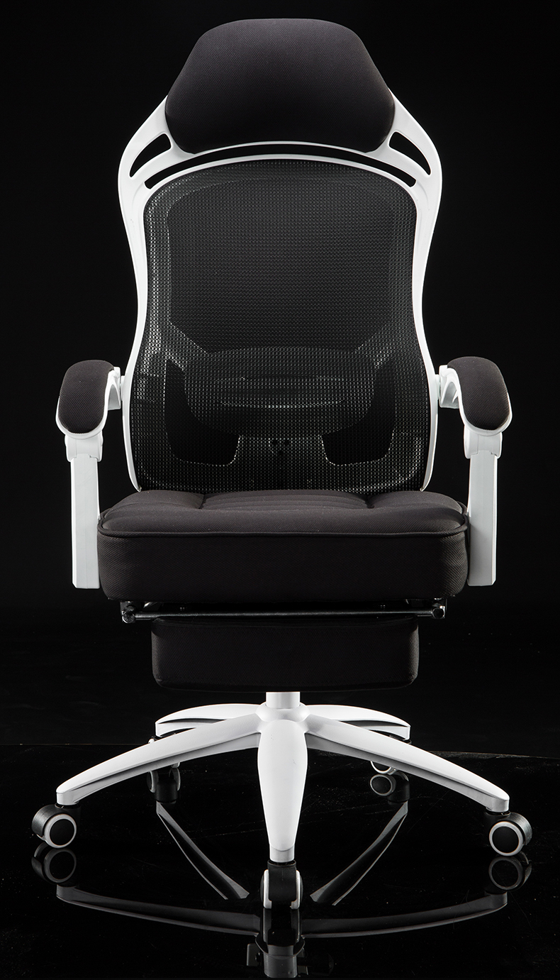 Ergonomics Computer Chair Net Cloth Swivel Chair Household Boss Chair Guard The Waist Office Chair Electronic Race Game Chair.
