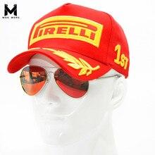 2017 Snapback Racing Cap Baseball Cap Black F1 Style Hats For Men Car Motorcycle Racing MOTO GP Casquette Outdoor Sports Sun Hat