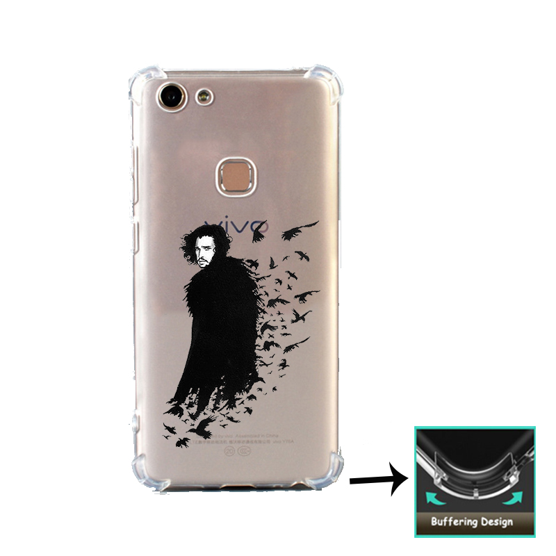 Game Of Throne Stark Shockproof case For Vivo Y53 Y53i Y65 Y66 Y67 Y71 Y71i Y81 Y81i Y83 V5 V5s Lite V7 Plus Phone Printed Cover