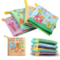 Baby Cloth Book Children Kids Educational Toys Stroller Rattle Toy Newborn Crib Bed Early Learning Intelligence Development