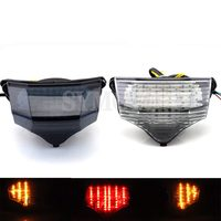 Motorcycle LED taillights brake assembly with steering Rear tail light For Yamaha FZ600 FZ6 FAZER 2004 2005 2006 2007 2008 2009