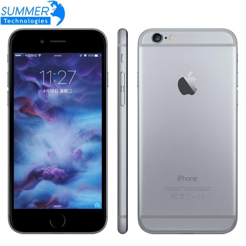 Фото. Оригинальный Apple iPhone 6s/6s плюс мобильный телефон Dual Core 12MP 2G RAM 16/64/128G ROM 4G LTE 3