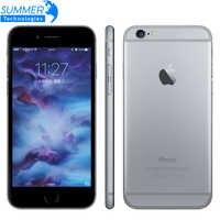 Téléphone portable Original Apple iPhone 6 s/6 s Plus double Core 12MP 2G RAM 16/64/128G ROM 4G LTE 3D téléphones portables à empreinte digitale
