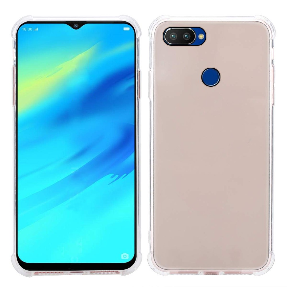 OPPO Realme 2 pro Case Cover OPPO Realme 2 ultra thin Clear Transparent TPU back case for OPPO Relame 1 C1 Full Cover Back cover (6)